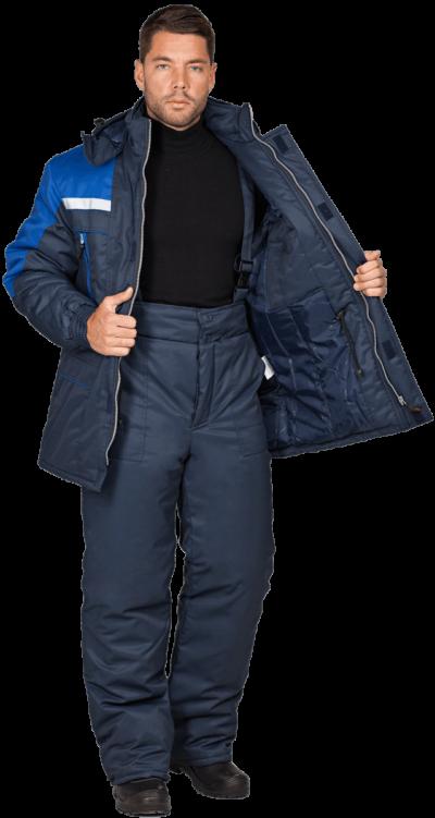 Куртка мужская зимняя рабочая «СПЕЦ»