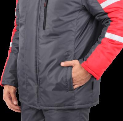 Куртка мужская зимняя рабочая «РОУД»