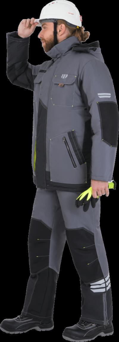 Костюм рабочий зимний с полукомбинезоном «Эдванс»