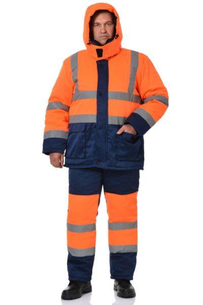 Костюм сигнальный зимний с брюками «Сигнал -3»